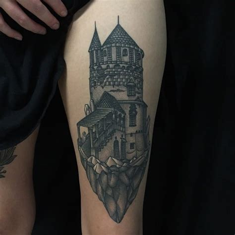 castle tattoo designs castle images designs