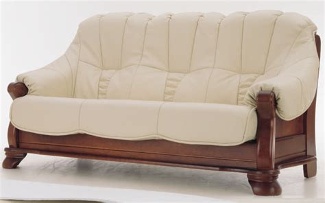 Wood Sofa At The Galleria Leather And Wood Sofas
