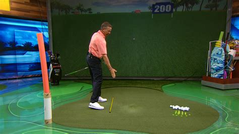 michael breed swing plane drill to improve golf backswing golf channel