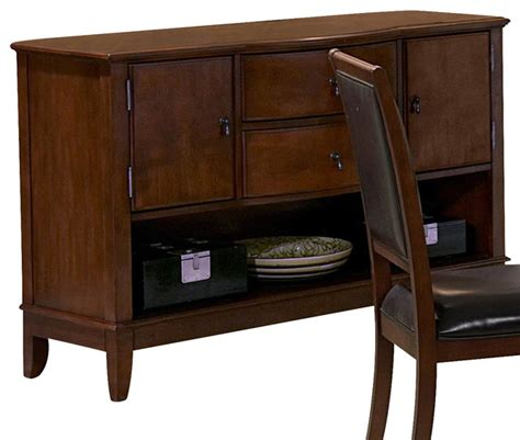 homelegance avalon 54 inch sideboard in cherry
