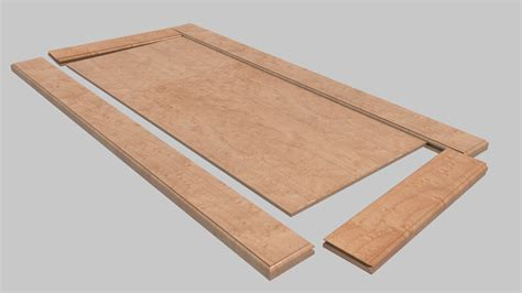 Shaker Cabinet Door Construction with Sketch Up Cabinet Construction Machining Software Woodweb S Cad Forum