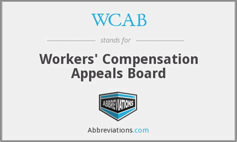 Workers Compensation Appeals Board Search Wcab Workers Compensation Appeals Board