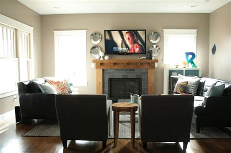 Living Room Layout With Fireplace by How To Arrange Furniture In An L Shaped Room Studio