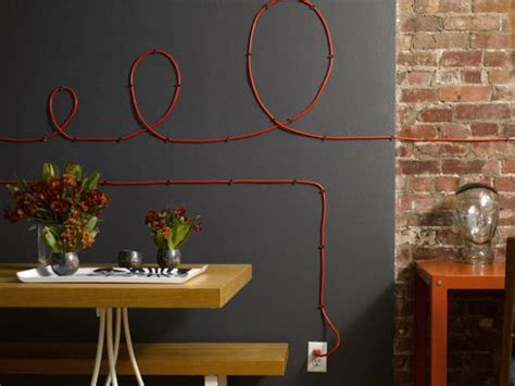 why hide your cables and cords when you can turn them into