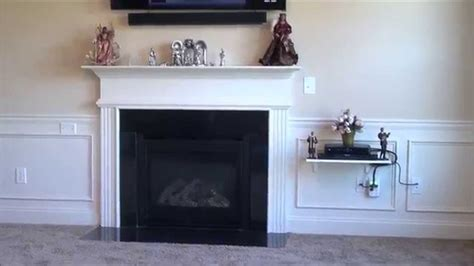 where to put tv how to install your flat screen tv without wires showing