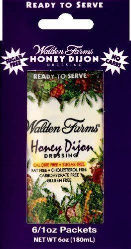 walden book voucher walden farms honey dijon salad dressing packets twelve 1