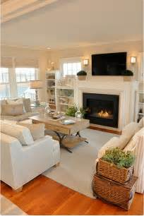 Furniture Chairs Living Room Design Ideas Cottage With Neutral Coastal Decor Home Bunch Interior Design Ideas