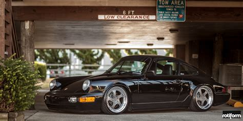 Porsche 964 Felgen by Rotiform Wheels