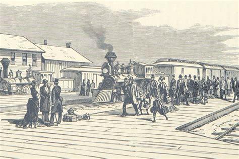how railroad history shaped history the atlantic