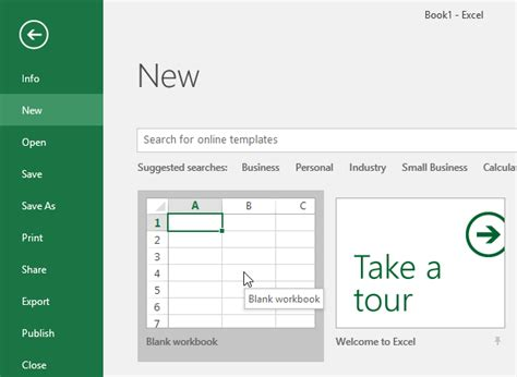 How To Open Spreadsheet by Excel 2016 Creating And Opening Workbooks Www Office