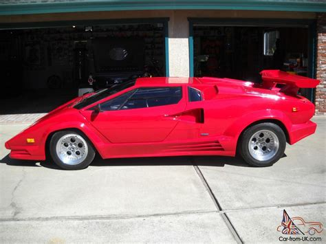 lamborghini countach replica 1989 replica kit lamborghini countach 25th anniversary