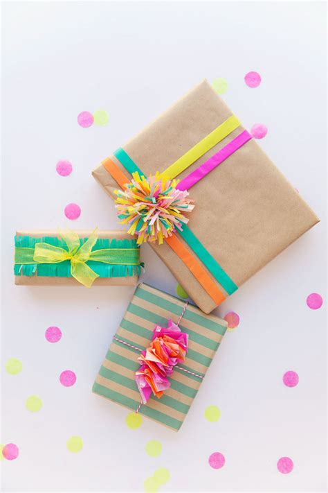 Make Your Own Gift Wrapping Paper - 10 crafty ways to make your own gift wrap with