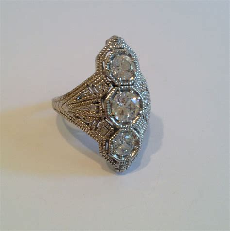 Estate Jewelry by Vintage Sterling Silver Estate Jewelry Ring By