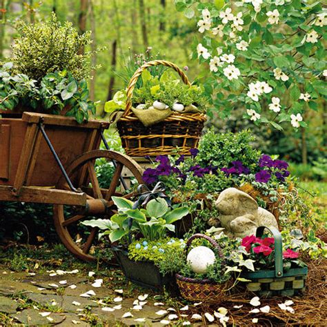 Easter Garden by Plant An Easter Basket Southern Living