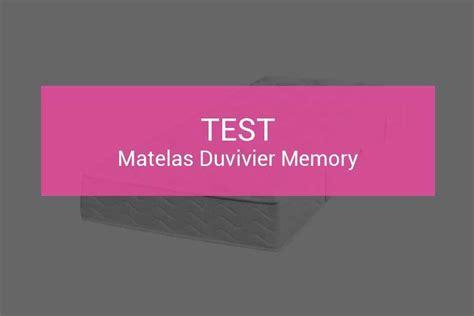 Avis Matelas Velda by Matelas Duvivier Prix Cool Avis Matelas Duvivier With