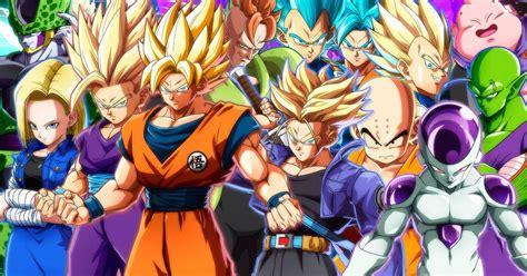 imagenes opticas de dragon ball z dragon ball fighterz todos los personajes confirmados