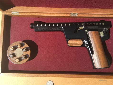 Mba Gyrojet Pistol For Sale by Mba Gyrojet Rocket Pistol 13mm Variant In P For Sale