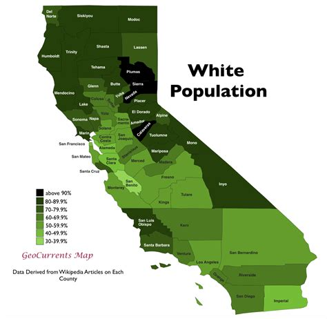 california map by population the regionalization of california part 1 geocurrents