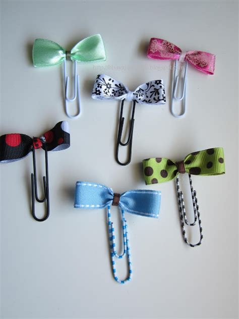 How To Make A Paper Clip Bow And Arrow - inato lang cuisine and more bow paper clip bookmarks