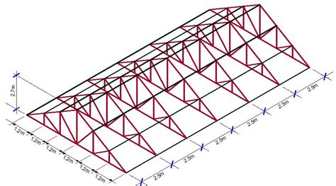 steel truss design for houses practical analysis and design of steel roof trusses to eurocode 3 a sample design