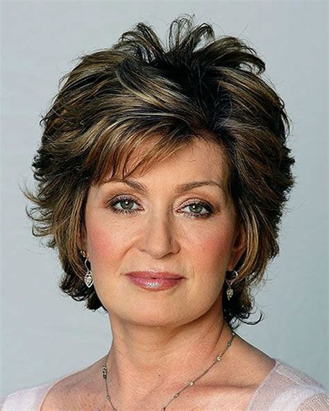 women over 60 with short brown hair with highlights older women s short hairstyles and hair colors for 2019