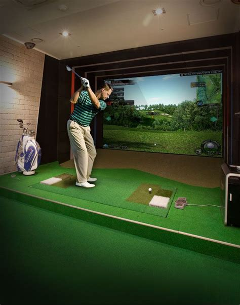 golf swing simulator 17 best ideas about golf simulators on golf