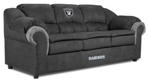raiders couch raiders furniture oakland raiders furniture raiders