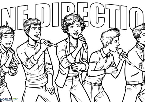 coloring pages free one direction one direction one thing colouring pages coloring home