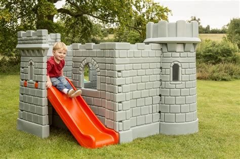 little tikes playhouse with slide and swings little tikes playground castle 230067 perfect toys