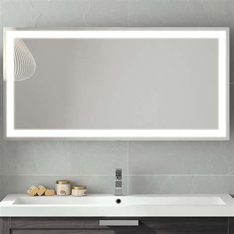 馗lairage cuisine miroir salle de bain led 120 cm stunning miroir salle de