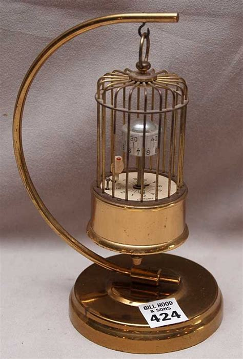 Clock L Stand kaiser bird cage clock stand alarm made in german