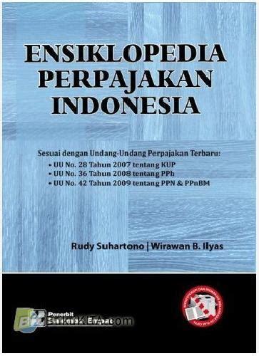 Ensiklopedia Indonesia bukukita ensiklopedia perpajakan indonesia