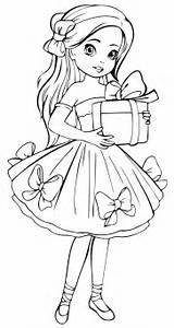 раскраски девочки и платья