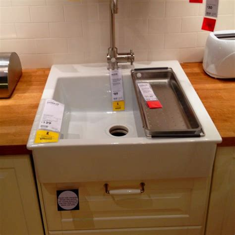 Ikea Kitchen Sink Installation 36 Best Images About Domsjo Sink On Base Cabinets Apron Sink And Farm Sink