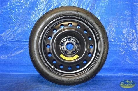 subaru spare tire 2008 2014 subaru impreza wrx sti spare tire 5x114 3 ebay