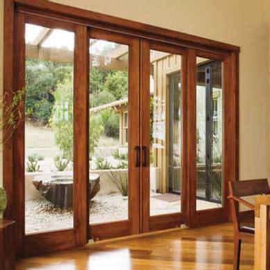wood sliding patio doors architect series sliding patio doors pella