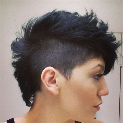 mohawk hair long in the front best 25 black hair mohawk ideas on pinterest natural