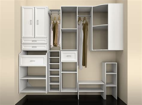 Enclosed Closet Systems by Closet Storage Systems Small Closet Systems Small Closet