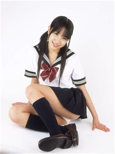 riho kishinami school uniform cute japanese and asian school girls riho kishinami