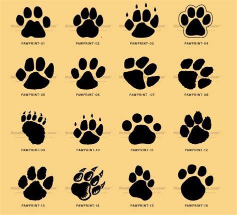 bear paw print tattoo best 25 cat paw tattoos ideas on paw print
