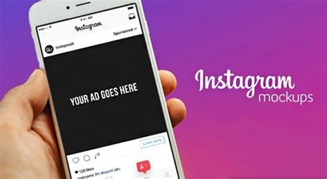The Grand List Of 50 Instagram Templates And Downloads Instagram Ad Template Psd