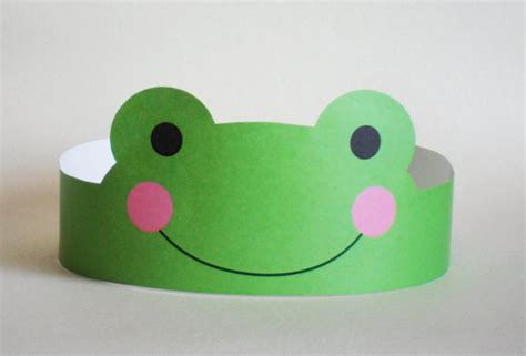 Paper Tiara Craft - crafts actvities and worksheets for preschool toddler and