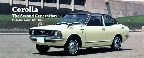 Toyota Of Mount Pleasant 1966 To 2017 The Evolution Of The Corolla Everett