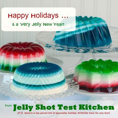 Jello Test Kitchen jelly recipes jelly test kitchen happy holidays