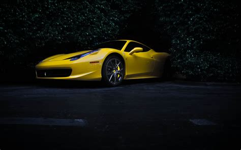 ferrari yellow wallpaper yellow ferrari 62 wallpapers hd desktop wallpapers