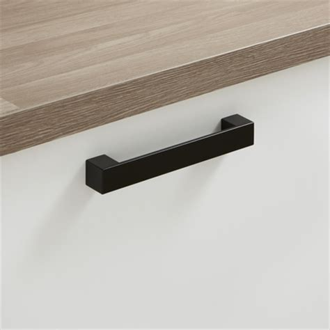 black handles for kitchen cabinets black square d handle kitchen handles howdens joinery
