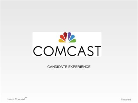 Comcast Mba Internship by It S All About The Candidate Talent Connect Vegas 2013