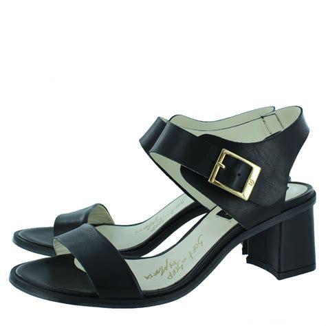 womens black heeled sandals marta jonsson womens block heel sandal 4537l black shoes