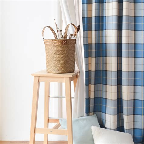 royal blue bedroom curtains royal blue modern bedroom plaid curtains