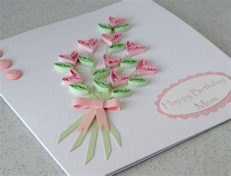 How To Make Paper Flowers For Greeting Cards - wedding card ideas handmade handmade 18th birthday card